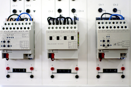 electric board system, KNX and home automation